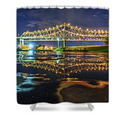 Crescent City Reflection Shower Curtain