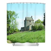 Crighton Church And Track Shower Curtain