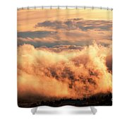 Cripple Creek Fog Shower Curtain