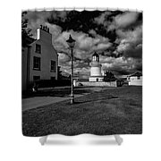 Cromarty Lighthouse Shower Curtain