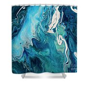 Cross Currents Shower Curtain