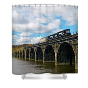 Crossing The Rockville Shower Curtain
