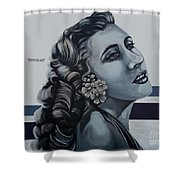 Cuenca Murals - Osmara De Leon Shower Curtain