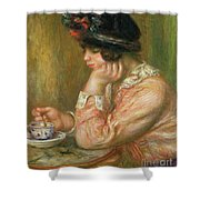 Cup Of Chocolate, 1914  Shower Curtain