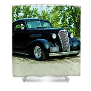 Custom 1937 Chevrolet Coupe Shower Curtain