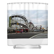 Cyclone Shower Curtain