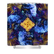 Cyclone's Center Shower Curtain
