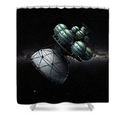Daedalus Interstellar Shower Curtain