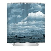 Dakota Sky Dream Shower Curtain