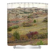 Dakota West Prairie Treasure Shower Curtain