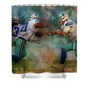 Dallas Cowboys. Shower Curtain
