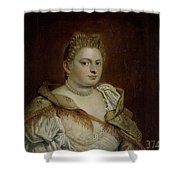 Dama Veneciana   Shower Curtain