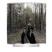 Damsel Of The Forest Shower Curtain