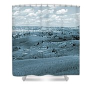 Dance Of The Clouds And Sun Shower Curtain