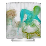 Dancing Shower Curtain