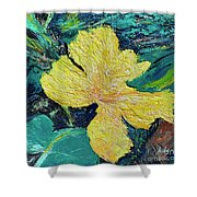 Dancing Flower Shower Curtain