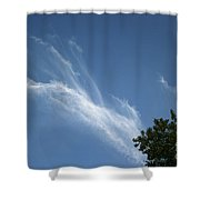 Dancing Sky Shower Curtain
