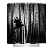 Darker - Raven Shower Curtain