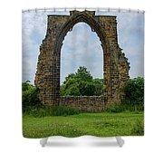 Darley Dale Abbey  Shower Curtain