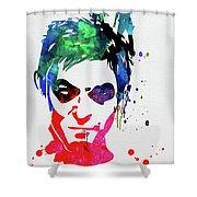 Daryl Watercolor II Shower Curtain