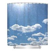 Daylight Savings Shower Curtain
