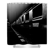 Death Railway Shower Curtain
