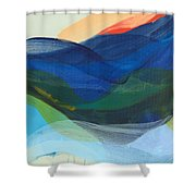 Deep Sleep Undone Shower Curtain