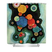 Deepened Impulse - Vertiefte Regung Shower Curtain