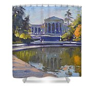 Delaware Park Buffalo Shower Curtain