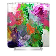 Delicate Canvas Two Shower Curtain