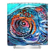 Demo Fish Shower Curtain