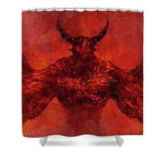 Demon Lord Shower Curtain