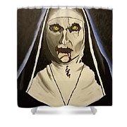 Demon Nun Shower Curtain