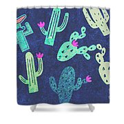 Desert Nights Shower Curtain