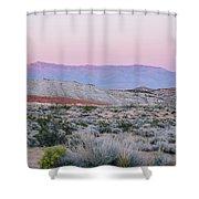 Desert On Fire No.1 Shower Curtain