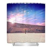 Desert Stars Shower Curtain