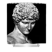 Detail Of Antinous  Shower Curtain