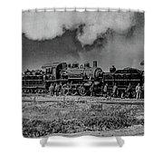 Detroit Terminal Railroad Shower Curtain