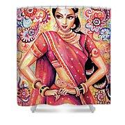 Devika Dance Shower Curtain
