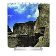 Devil's Den Rock Forms Shower Curtain