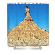 The Desert Of The Royal Bardenas Shower Curtain
