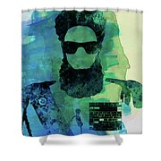 Dictator Watercolor I Shower Curtain