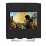 Dido Who Builds Carthage - Digital Remastered Edition Shower Curtain