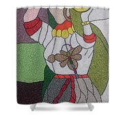 Different Woman Shower Curtain