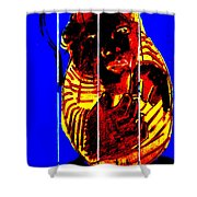 Digital Monkey 3 Shower Curtain