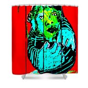 Digital Monkey 4 Shower Curtain