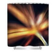 Dill Flower Abstract Shower Curtain