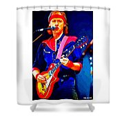 Dire Straits Mark Knopfler Shower Curtain