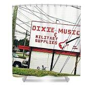 Dixie Music Shower Curtain