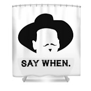 Doc Holidaytombstone Shower Curtain
